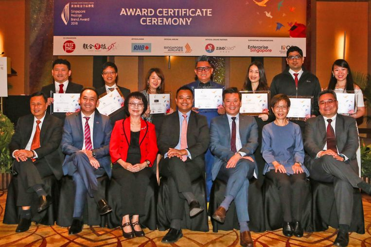 30 Singapore firms feted for branding efforts